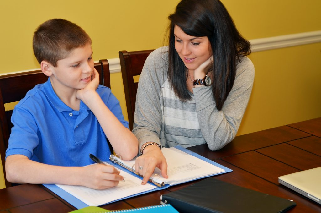 math tutoring session in Katy